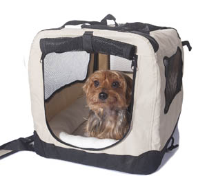 2PET Folding Soft Dog Crate for Indoor, Travel & Training