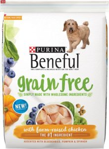 Purina Beneful Grain-Free With Chicken Dry Dog Food
