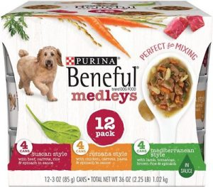 Purina Beneful Medleys Tuscan, Romana & Mediterranean Style Variety Pack Canned Dog Food