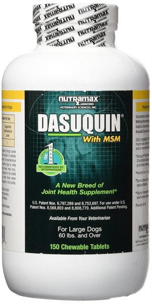 Nutramax Dasuquin with MSM Chewable Tablets for Dogs