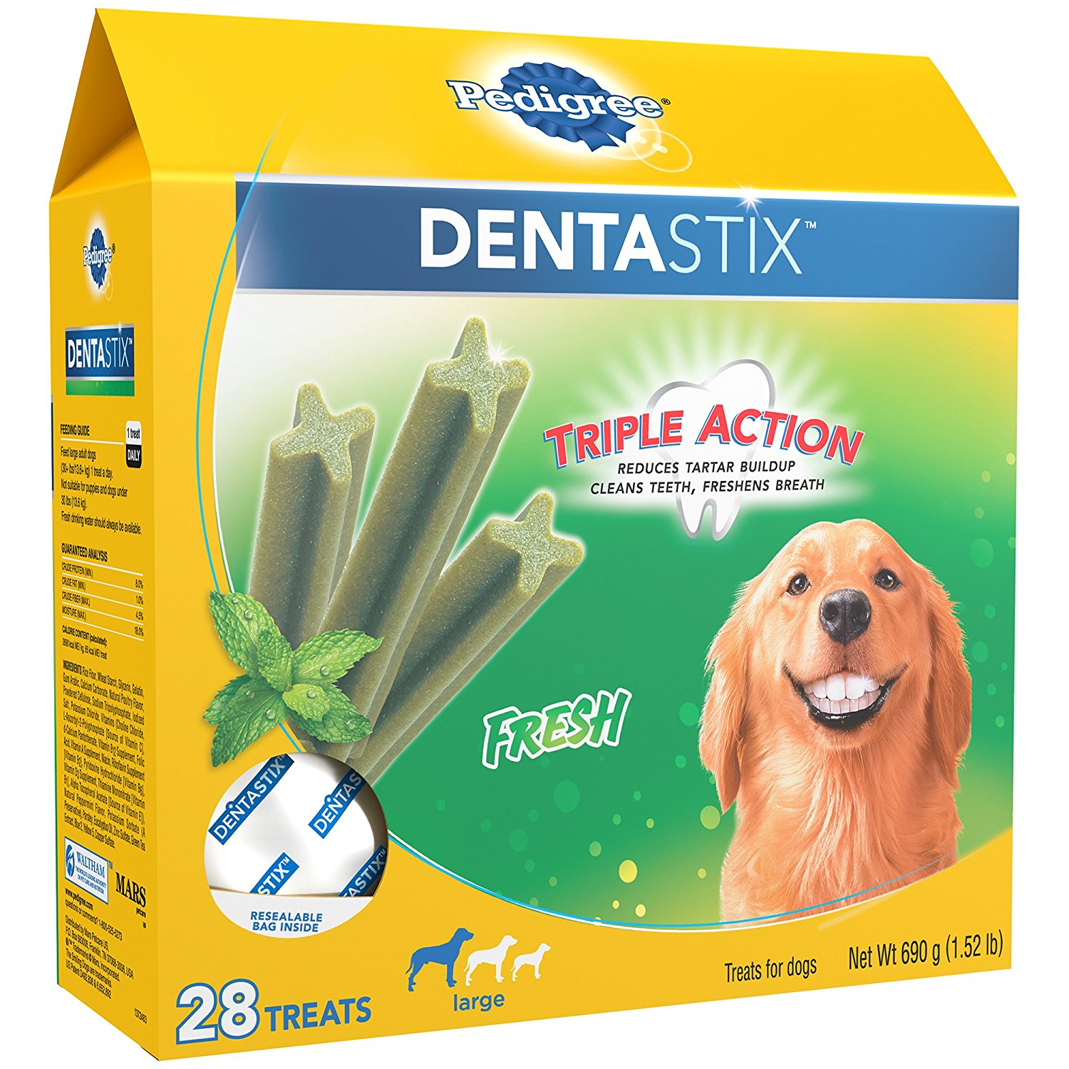 PEDIGREE Dentastix Large Dog Treats