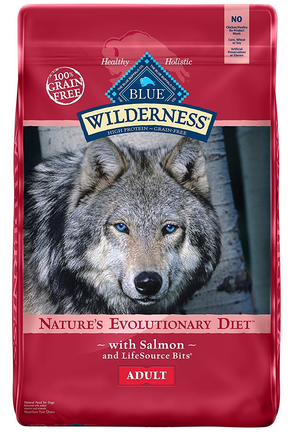 Blue Buffalo Wilderness Grain Free Dry Dog Food, Salmon Recipe