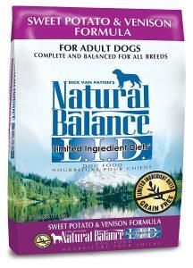 Natural Balance Dry Dog Food – Sweet Potato & Venison Formula