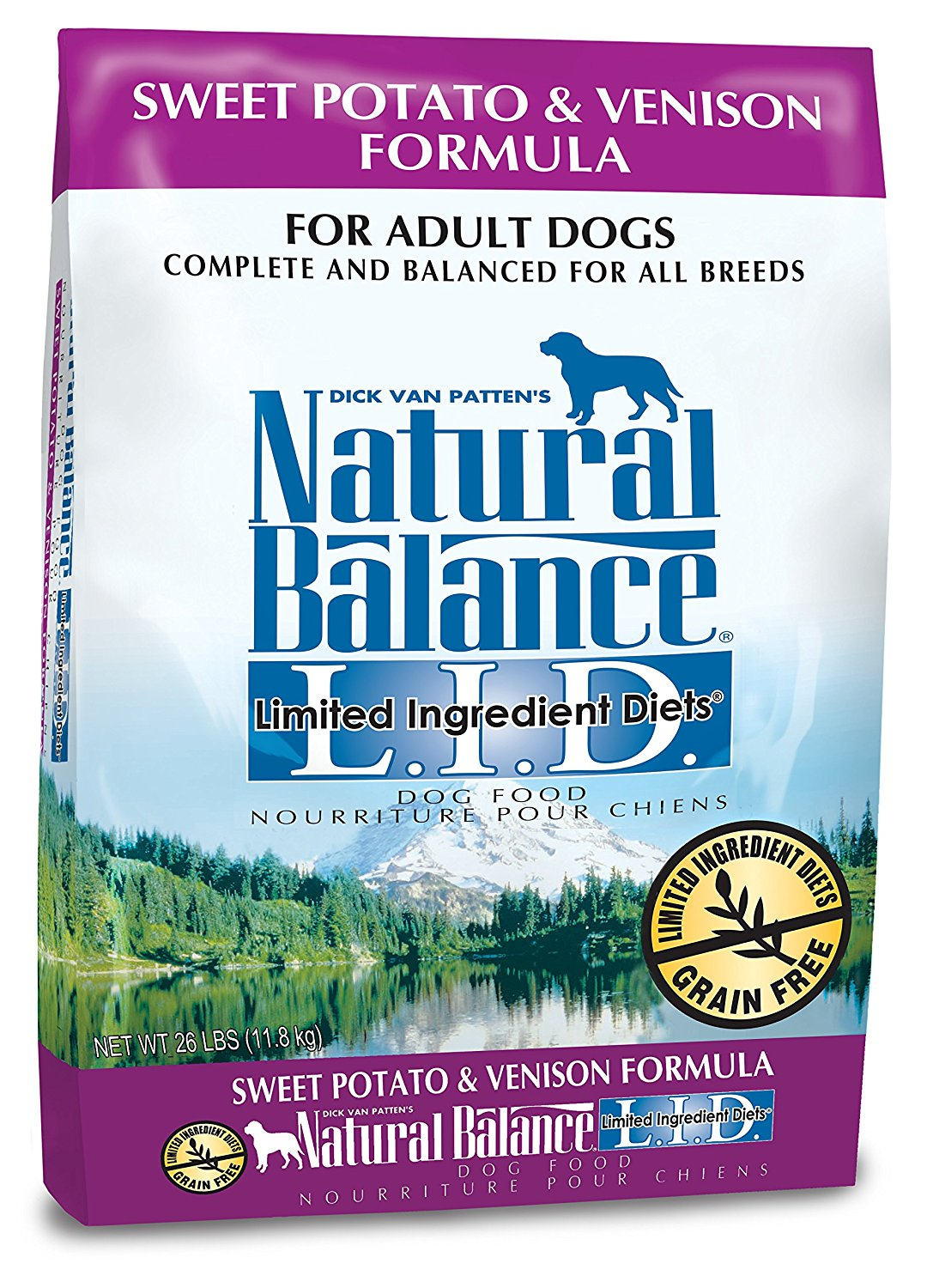 Natural Balance Dry Dog Food – Sweet Potato & Venison Formula