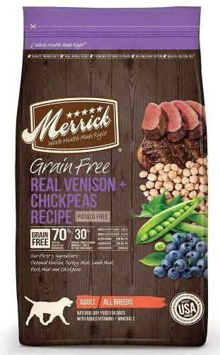 Merrick Grain Free Dry Dog Food – Venison Formula