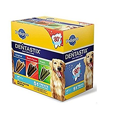 Pedigree Dentastix 51-Treat Variety Pack