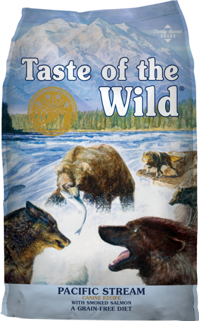 Taste of the Wild Dry Dog Food, Pacific Stream Canine Formula