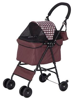 IRIS Dog & Cat Folding Stroller