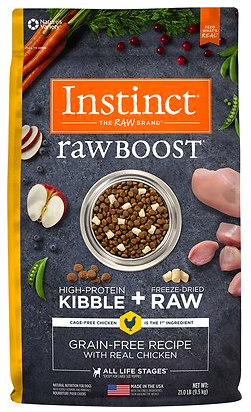 Natures Variety Instinct Raw Boost Grain-Free Dry Dog Food