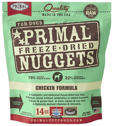 Primal Chicken Formula Nuggets