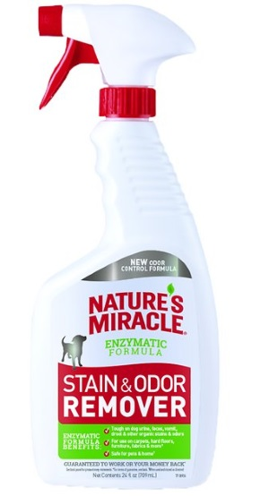 Nature's Miracle Dog Stain and Odor Remover Spray