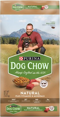 Dog Chow Natural With Real Chicken & Beef Dry Dog Food