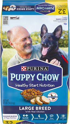 Puppy Chow Large Breed Chicken Flavor Formula