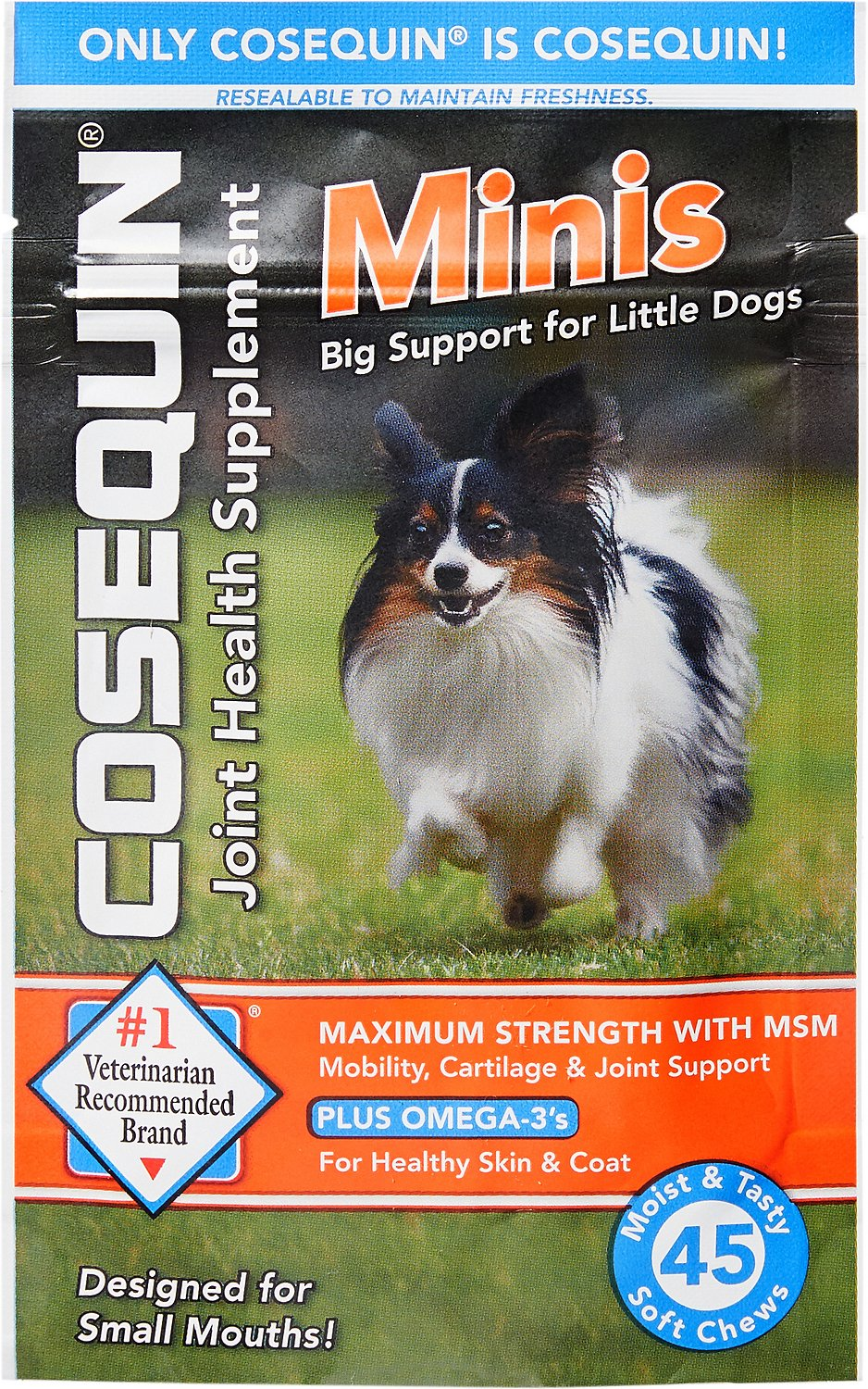 Nutramax Cosequin With MSM Plus Omega 3's Mini Soft Chews